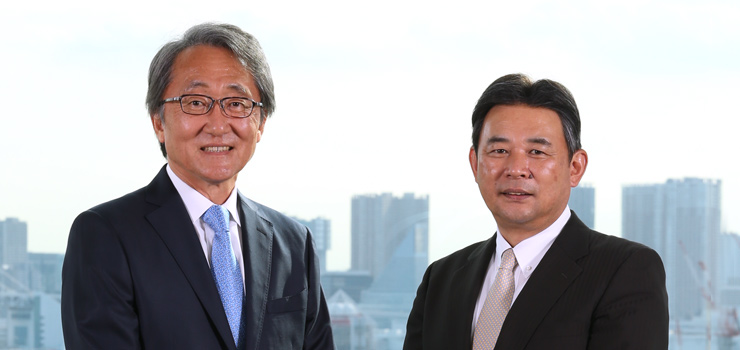 Masao Tabuchi, Chairman and Chief Executive Officer , Tooru Tanihara, President and Chief Operating Officer