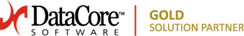 DataCore SOFTWARE GOLD SOLUTION PARTNER